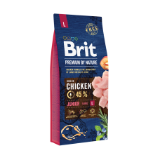 Brit Premium By Nature Junior L 15 Kg Livrare GRATUITA