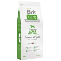 Brit Care Adult Large Breed cu Somon 12 Kg Livrare GRATUITA