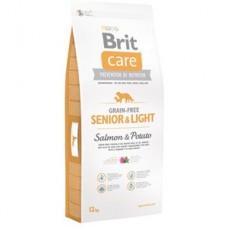Brit Care Senior Light cu Somon si Cartofi 12 Kg Livrare GRATUITA